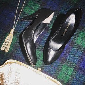 Charles Jourdan - Classic Black Heel - Size 6